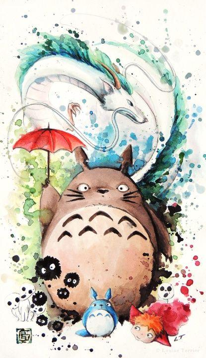 Totoro y sus amigos