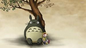 Mei y Totoro