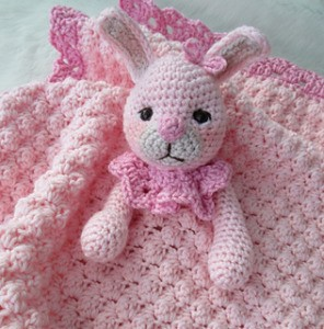 Bunny Huggy Blanket