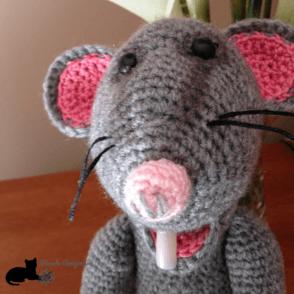 Rata Glotona cabeza
